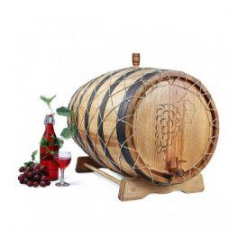 Бочка для вина с краном 100 л Премиум (кавказский дуб)
