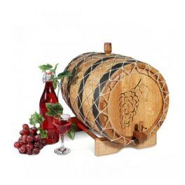 Бочка для вина с краном 25 л Премиум (кавказский дуб)
