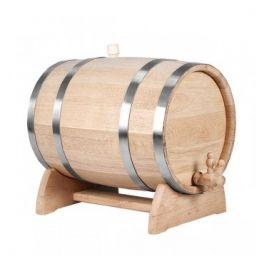 Бочка для вина с краном 25 л Люкс (украинский дуб)