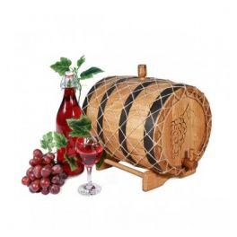 Бочка для вина с краном 10 л Премиум (кавказский дуб)