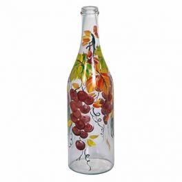 Бутылка «Виноград» с ручной росписью 1 л