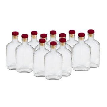 Комплект бутылок «Фляжка» 0,25 л (12 шт.) в Уфе