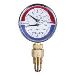 Манометр+Термометр