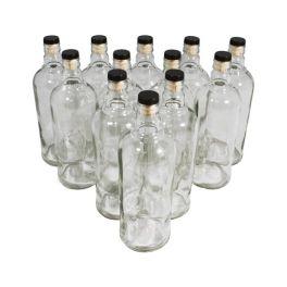 Комплект бутылок «Абсолют» с пробкой 0,5 л (12 шт.)