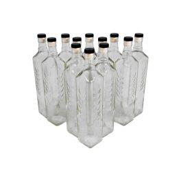 Комплект бутылок с пробкой «Колос» 0,7 л (12 шт.)
