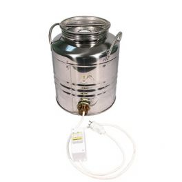 Бидон из нержавейки 20 л + ТЭН 2 кВт + термометр