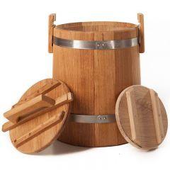 Кадка дубовая для засолки 10 л