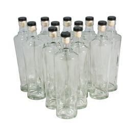 Комплект бутылок «Орбита» с пробкой 0,5 л (12 шт.)